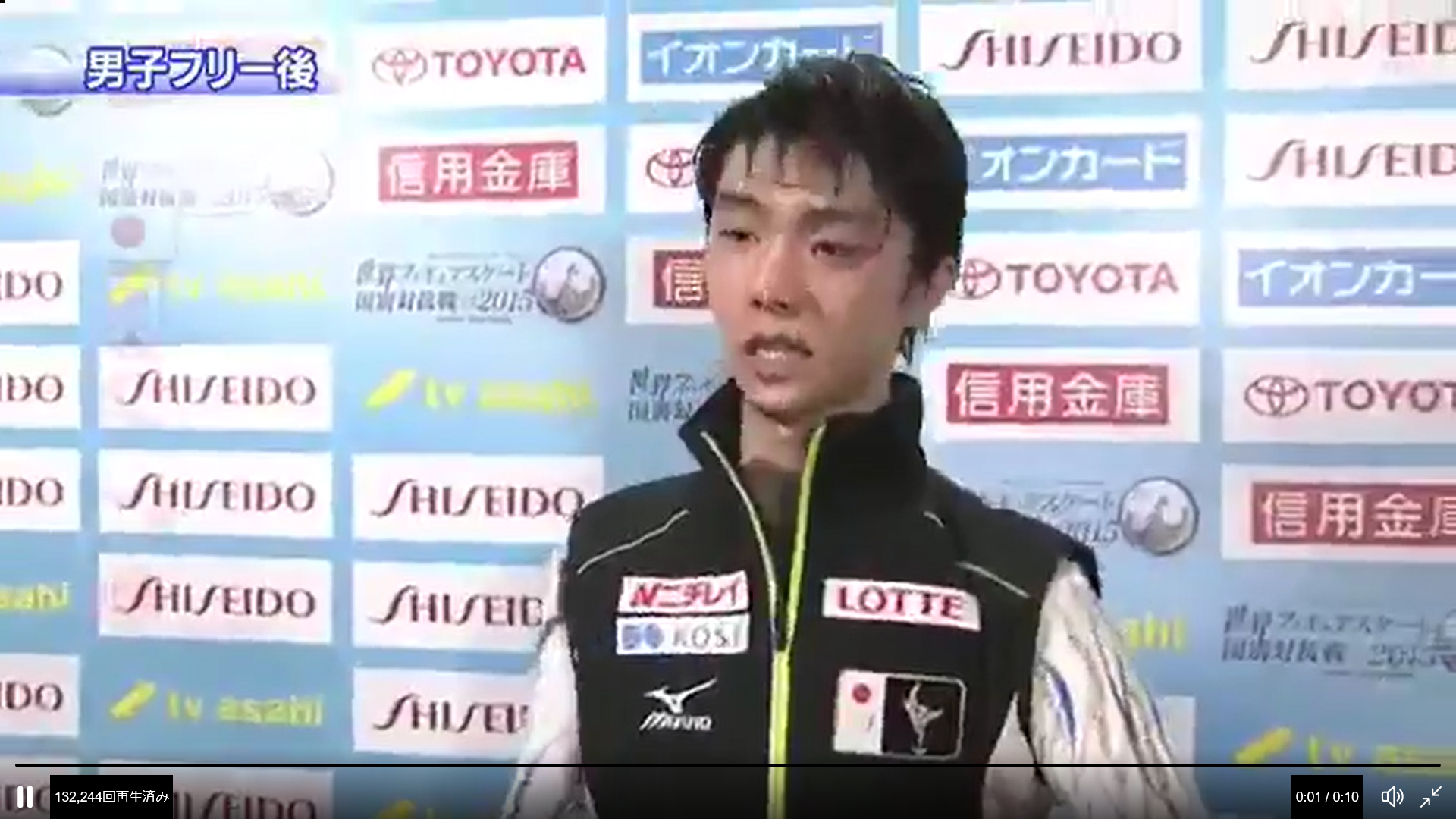 このわずかな瞬間に人柄が出る羽生結弦選手